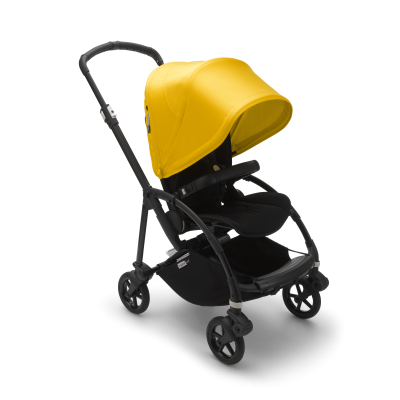Bugaboo Bee6  complete Black/Black/Lemon Yellow