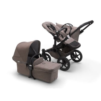 Bugaboo Donkey 3 Mono complete Mineral Black/Taupe