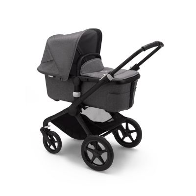 Bugaboo Fox2 complete Black/Grey Melange
