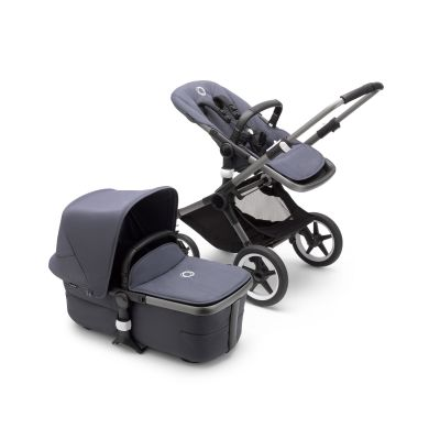 Bugaboo Fox3 complete Graphite/Stormy Blue-Stormy Blue