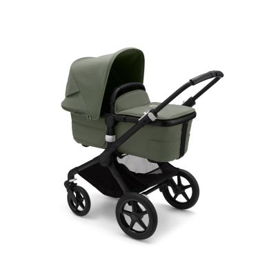 Bugaboo Fox3 complete Black/Forest Green-Forest Green